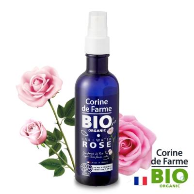 法國黎之芙 BIO認證有機玫瑰花水200ml