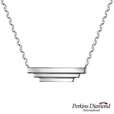 PERKINS 伯金仕 Flora系列 ladder 925純銀項鍊