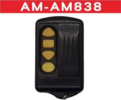 {遙控達人}AM838 內寫B5 滾碼 發射器 快速捲門電動門遙控器 各式遙控器維修 鐵捲門遙控器 拷貝 馬達安裝修理