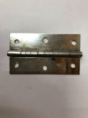 白鐵 丁雙 2'' 鉸鏈 後鈕 活頁 厚度1.2mm 1打24裝 台灣製