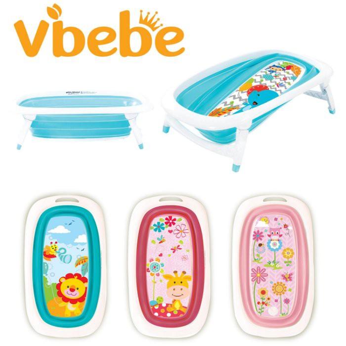 Vibebe 折疊浴盆(四色可挑) 980元 (無法超商取件)