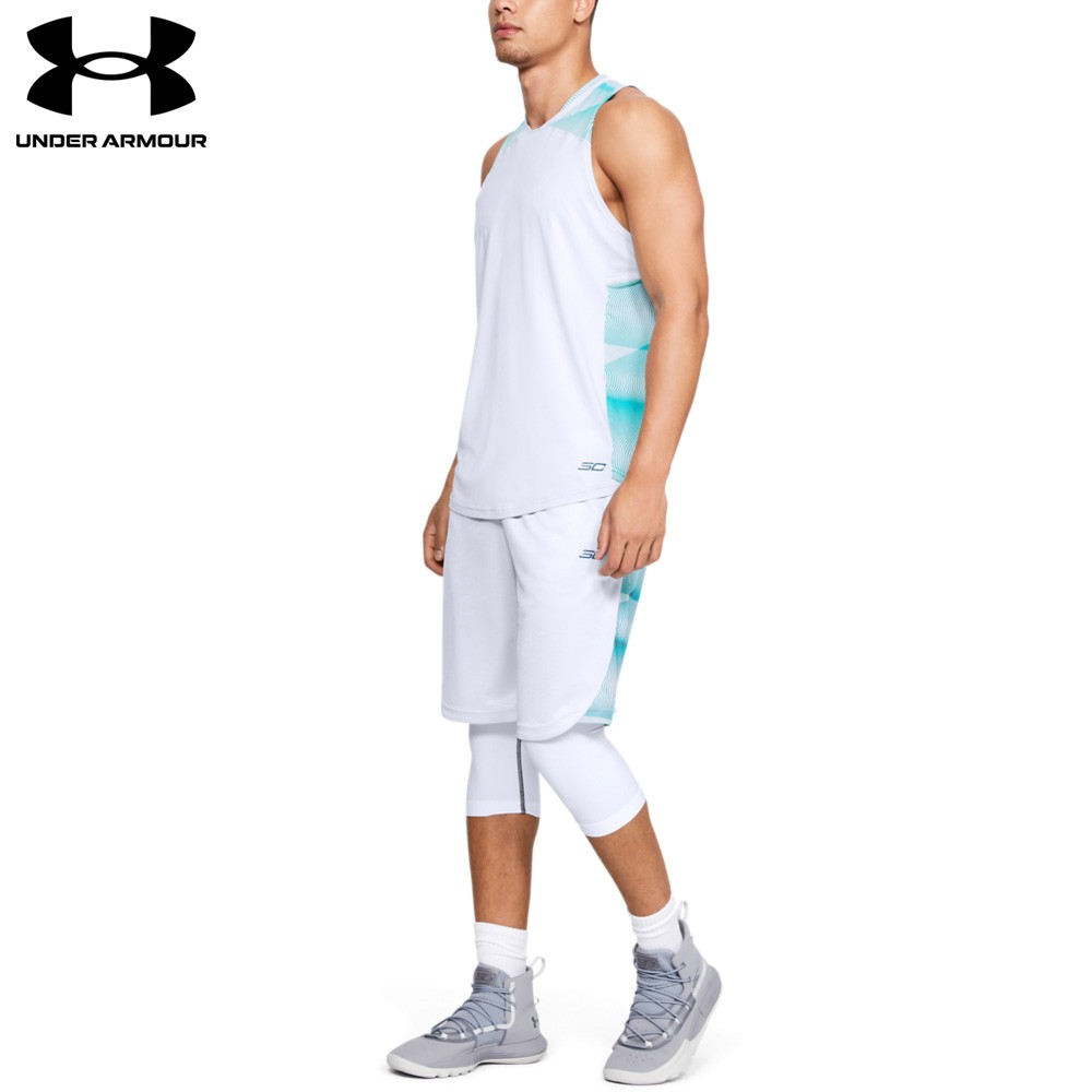 【UNDER ARMOUR】男 SC30背心(1342979-014,Fitted)