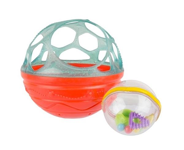 小饅頭**playgro培高玩具 洗澡洞洞滾珠球(PG4087628)