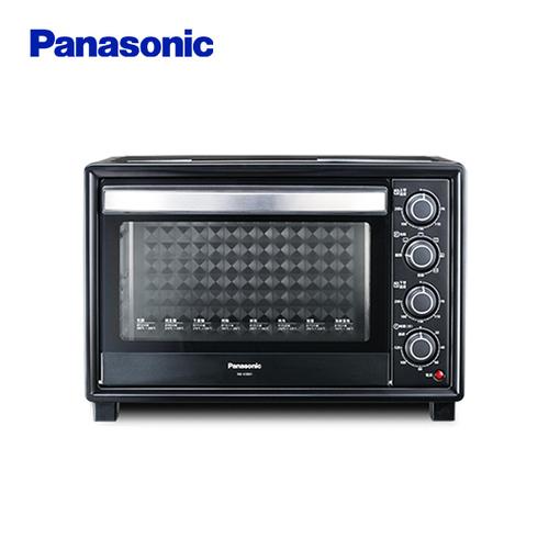 贈全家商品卡500元 Panasonic 國際牌 38L烘烤旋轉式電烤箱 NB-H3801-