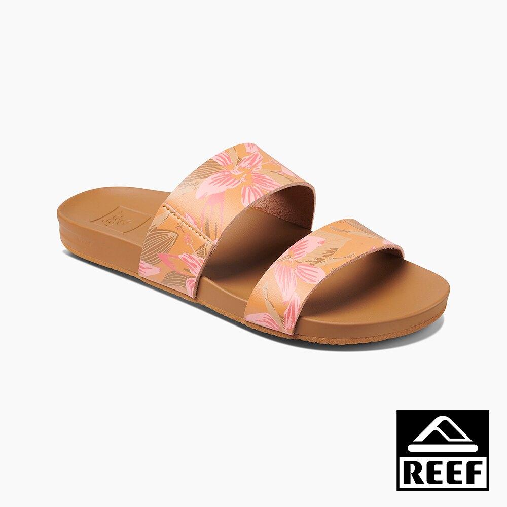 REEF 能量彈力系列 非夾腳兩片式織帶 女款拖鞋 - 木槿 S20 RF0A3OKSHIB