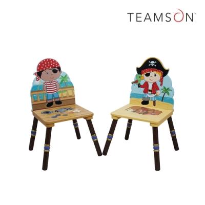 Teamson 童趣手繪木製兒童椅子2入(2款)