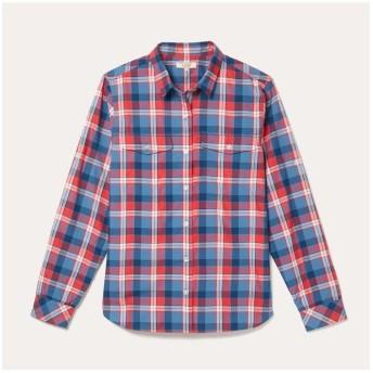(AIGLE/エーグル)DFT ロールアップスリーブシャツ/レディース ブルー