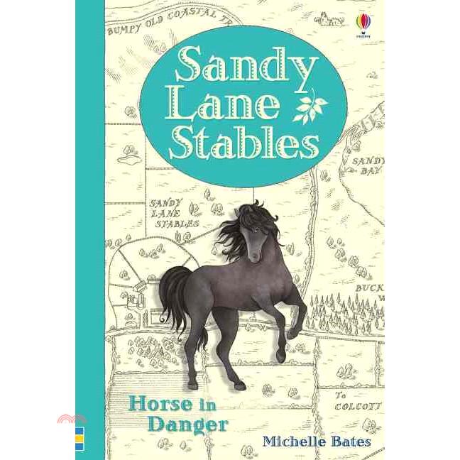 Sandy Lane Stables Horse in Danger【三民網路書店】(精裝)[5折]