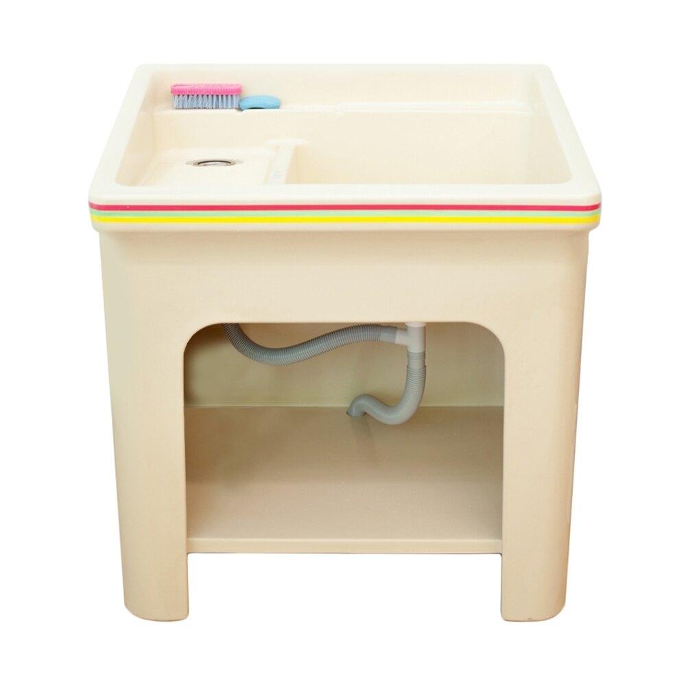 FRP玻璃纖維洗衣槽 [長81cm]限時$3999/流理台/洗衣槽/洗手台/集水槽/洗碗槽【JL精品工坊】