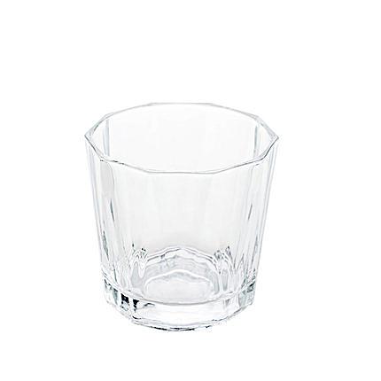 居家家透明玻璃水杯早餐杯子沙拉碗家用玻璃杯飲料杯果汁杯牛奶杯 【快速】
