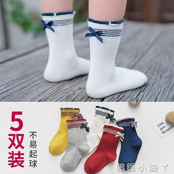 兒童襪子中筒襪春秋薄款寶寶白色女童長筒襪夏天堆堆襪花邊公主襪 蘿莉小腳丫
