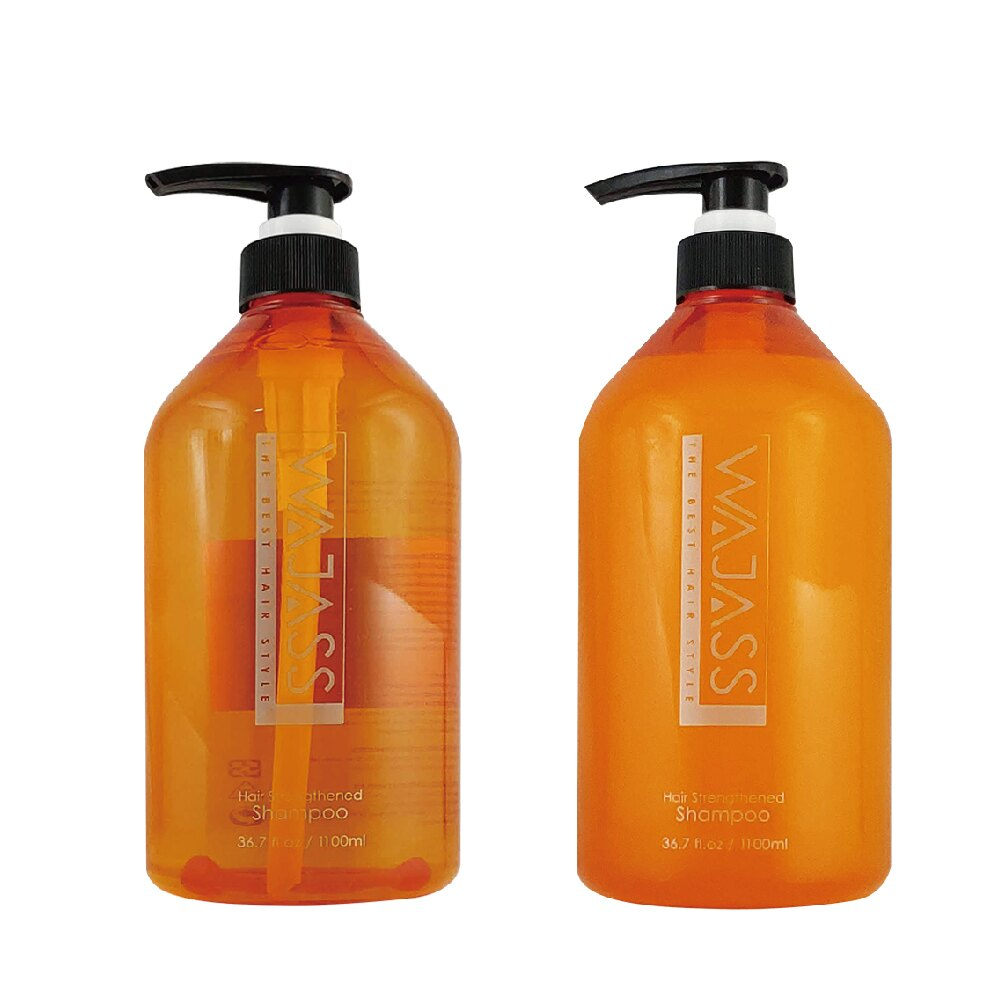 WAJASS 威傑士 沙龍級專業洗髮系列 深層活效洗髮精 / 毛髮強化洗髮精 1100ml