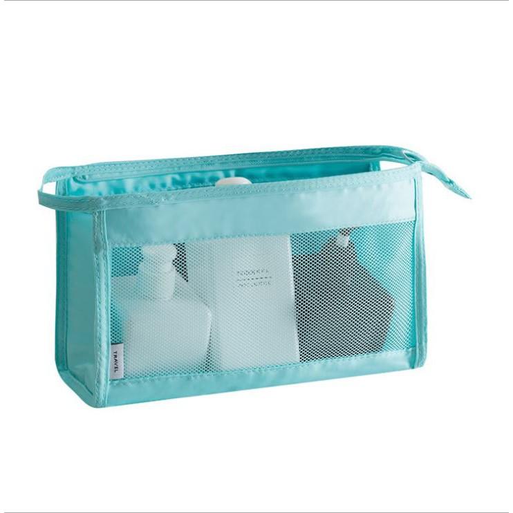JIDA 輕生活多彩可懸掛式防水大容量化妝包 盥洗包