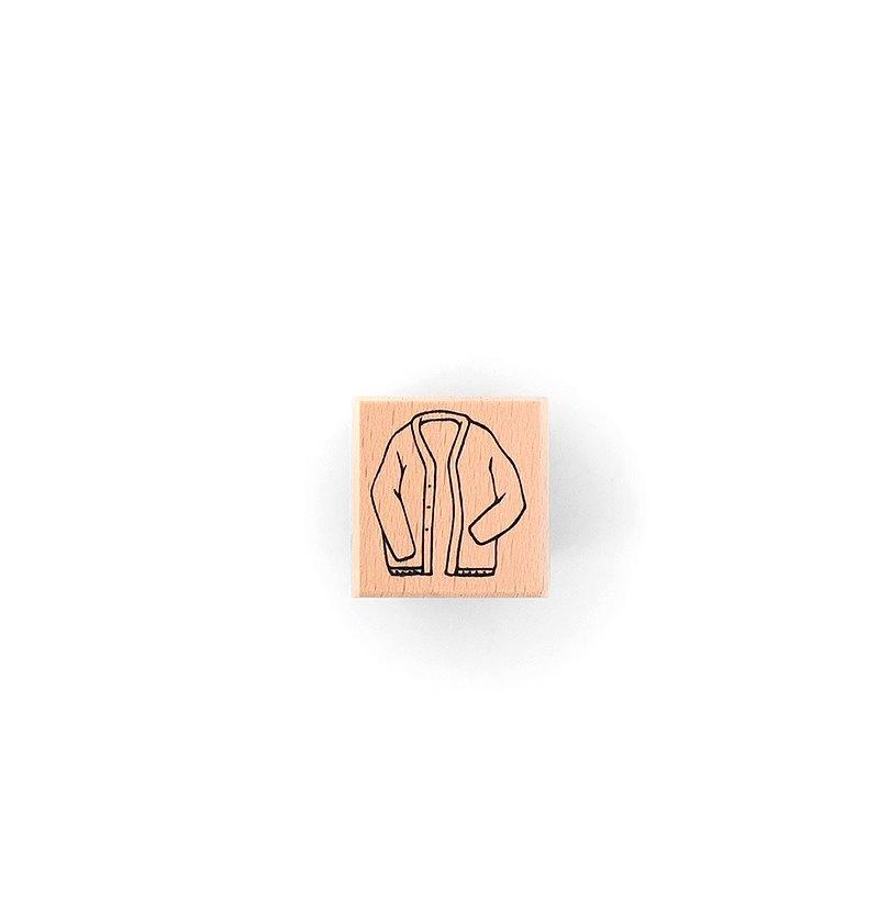 試衣章 Trying on Stamp-C006針織外套