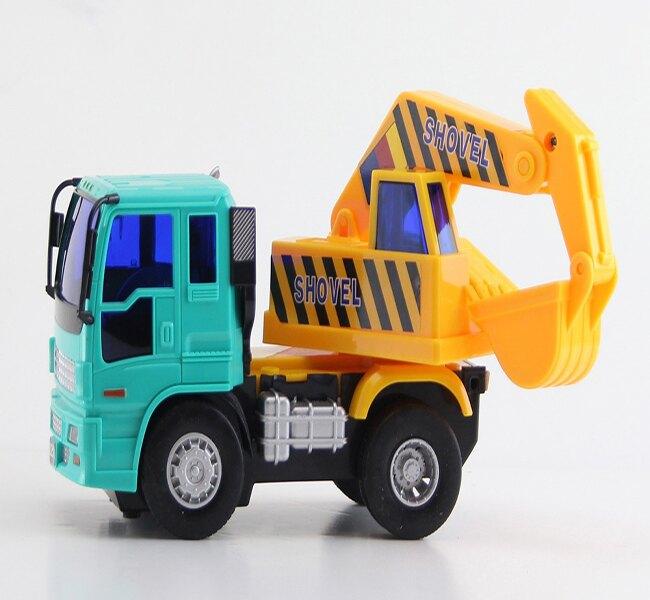 小小家 工程小車車系列-磨輪小型怪手【六甲媽咪】