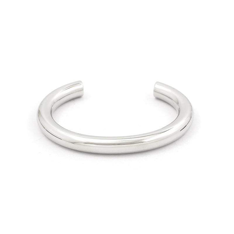 Steel Round Bar C-type Bracelet 圓柱C形手鐲 M
