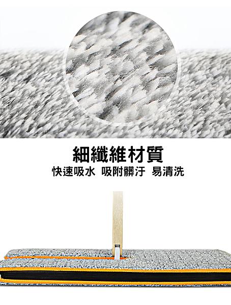 ⭐星星小舖⭐台灣出貨 免水桶 免手洗 雙面拖 一體式拖把 免手洗拖把【拖把布】【CL103A】