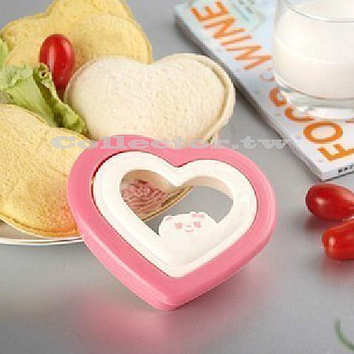 愛心口袋三明治模具製作器 Diy三明治模具 口袋麵包製作器