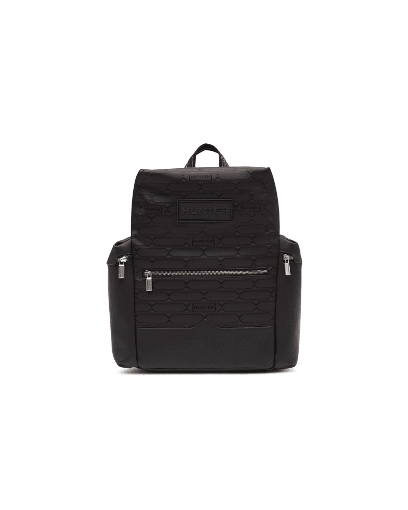 Refined Jacquard-rucksack Mit Klippverschluss Oben