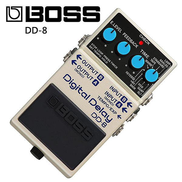 BOSS DD-8 數位延遲效果器