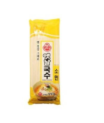韓國 不倒翁OTTOGI 傳統細麵條 500g