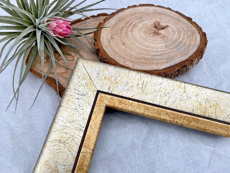 【919金紐西蘭松木相框】尺寸客製化訂製/拼圖框