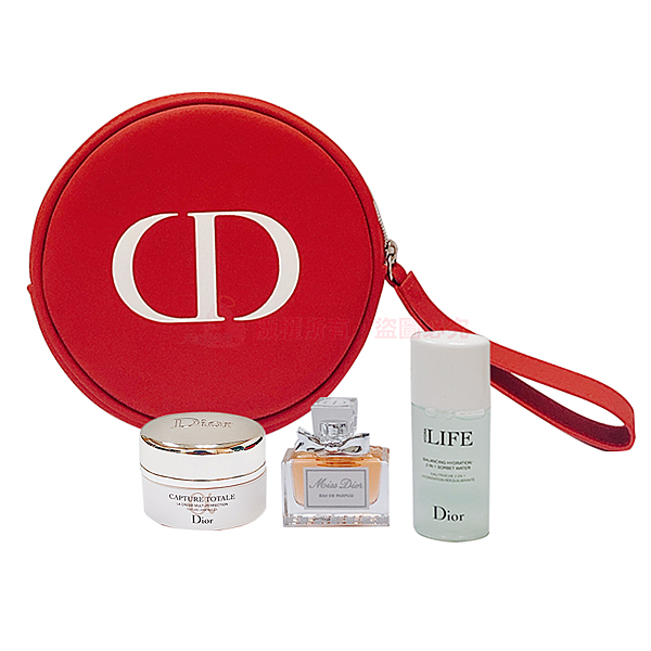 Dior~迪奧超惹火保養4件組
