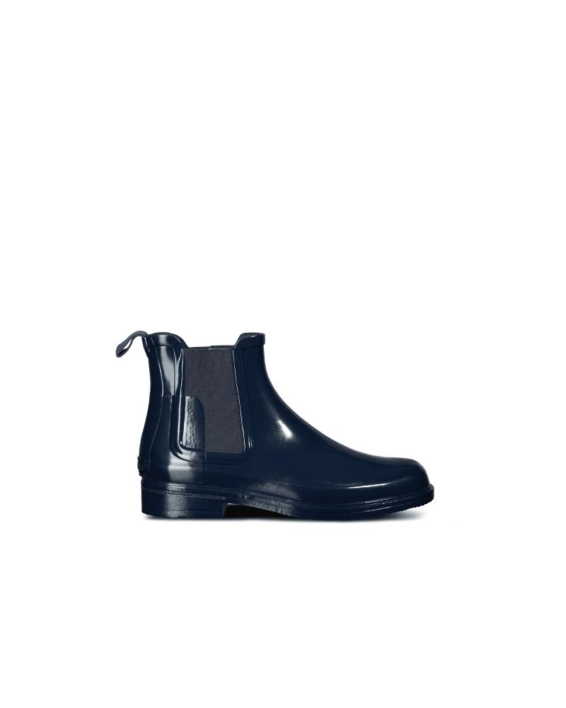 Glänzende Refined Chelsea-stiefel Mit Schmaler Passform Für Herren