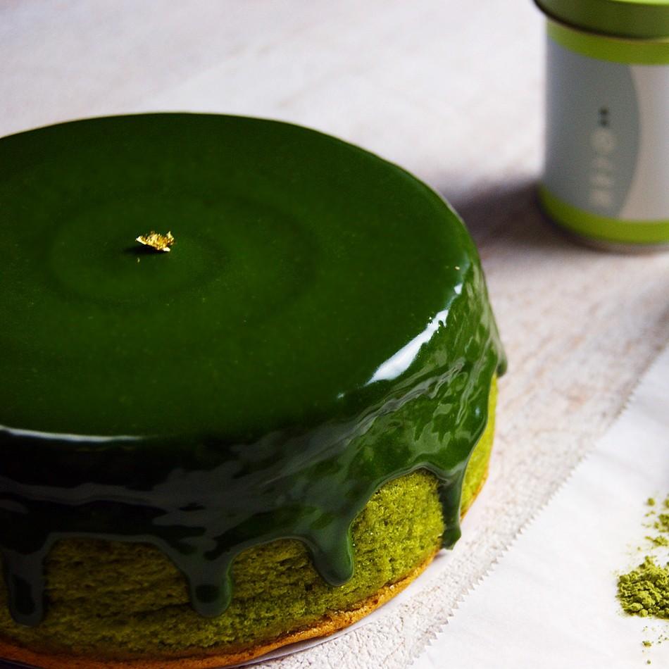 【黑手甜點】小山園抹茶生巧克力蛋糕/6吋