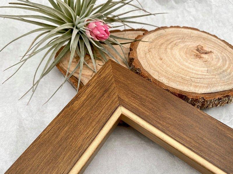 【105咖金紐西蘭松木相框】尺寸客製化訂製/拼圖框