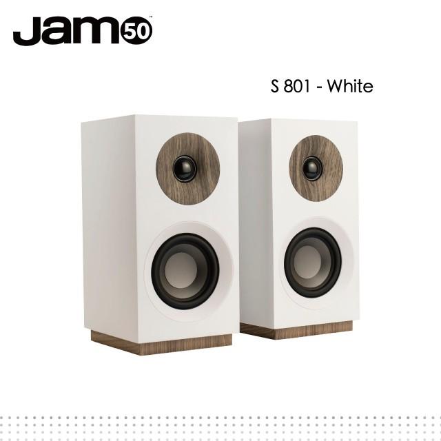 丹麥Jamo S 801 書架式喇叭-white
