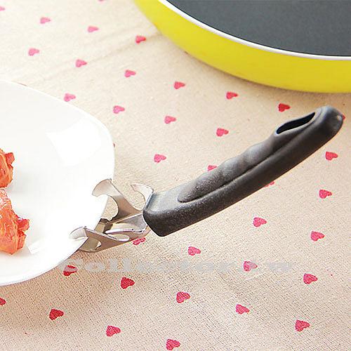 輕便型不銹鋼多功能碟碗夾 微波爐防燙夾碗器 耐高溫電鍋提盤夾