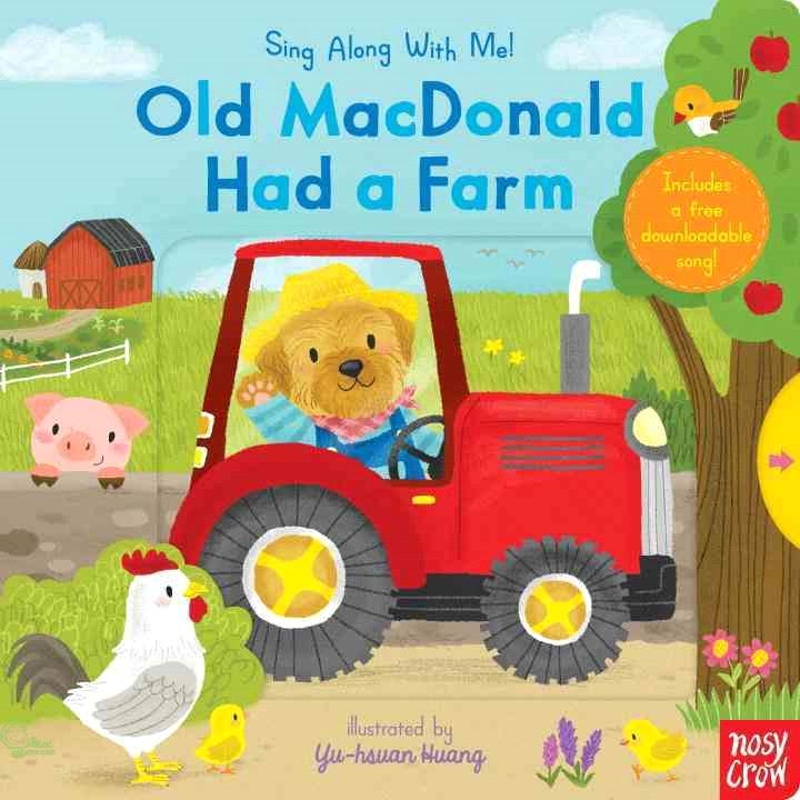 Sing along Old Macdonald Had a Farm【禮筑外文書店】(硬頁書)