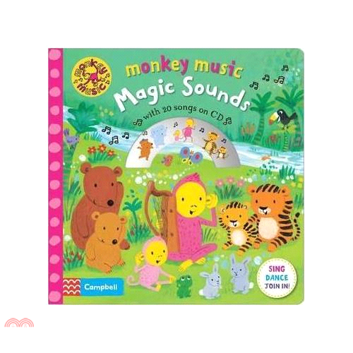 Magic Sounds ─ With 20 Songs on CD (1硬頁+1CD)【三民網路書店】[7折]