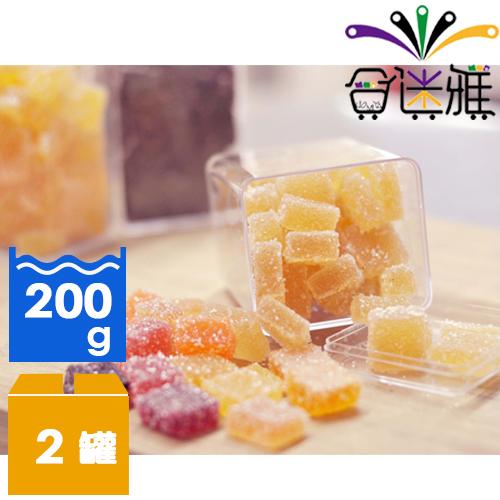 【免運直送】活力C法式軟糖-鳳梨+維他命C (200g/罐)*2罐   -02