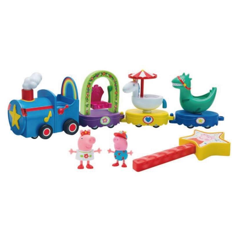 粉紅豬小妹Peppa Pig 魔法列車 玩具反斗城