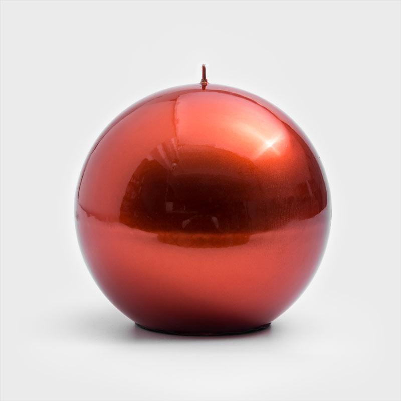 GRAZIANI 純質亮采 15cm 大球燭│赤銅│單品