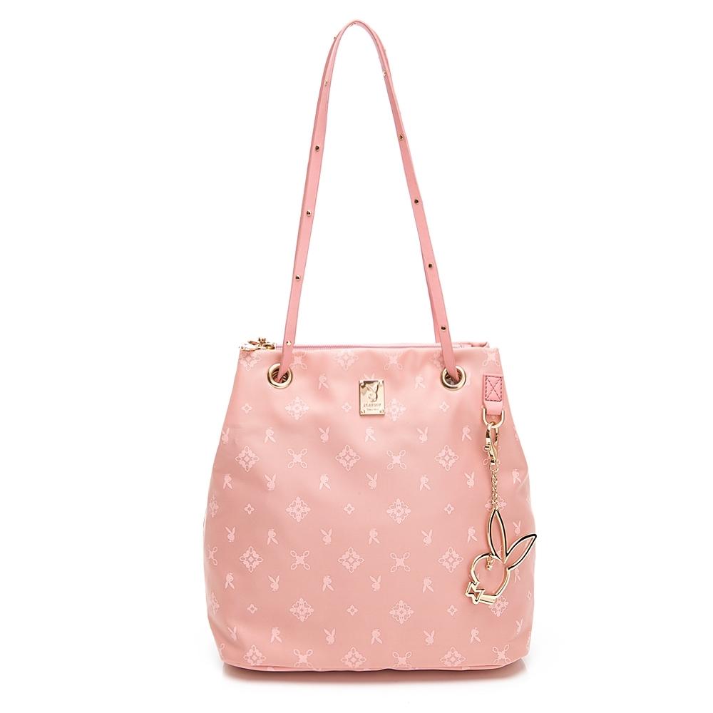 PLAYBOY 肩背包 Floral花漾系列 粉膚色 592-1302-20-6