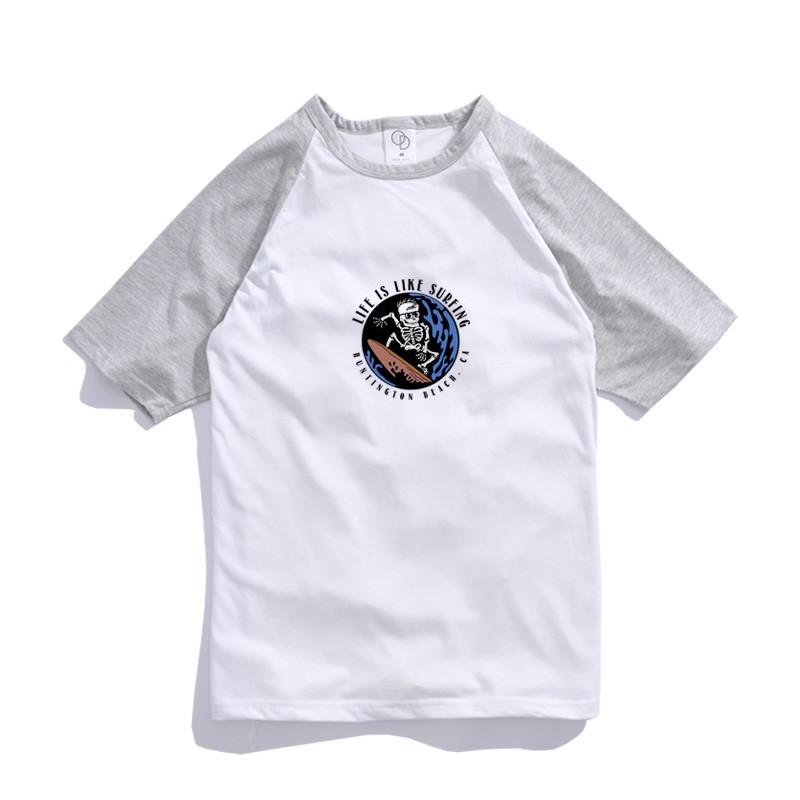 ONE DAY 台灣製 155C78 棒球短T 寬鬆衣服 短袖衣服 衣服 T恤 短T 素T 寬鬆短袖 短袖T恤 落肩短T