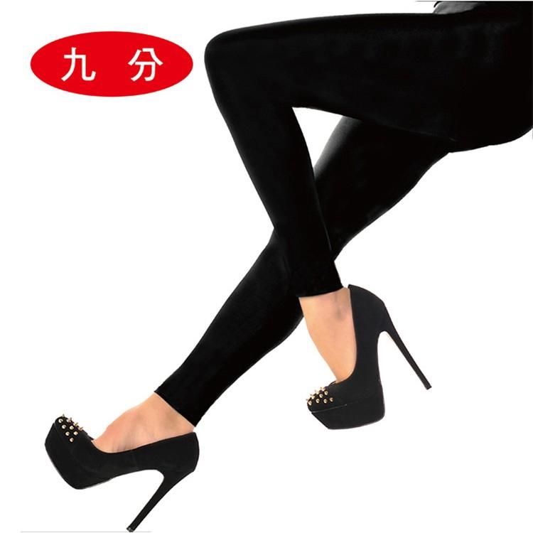 LIGHT & DARK 裡起絨爆暖顯瘦美腿九分襪 廠商直送 現貨