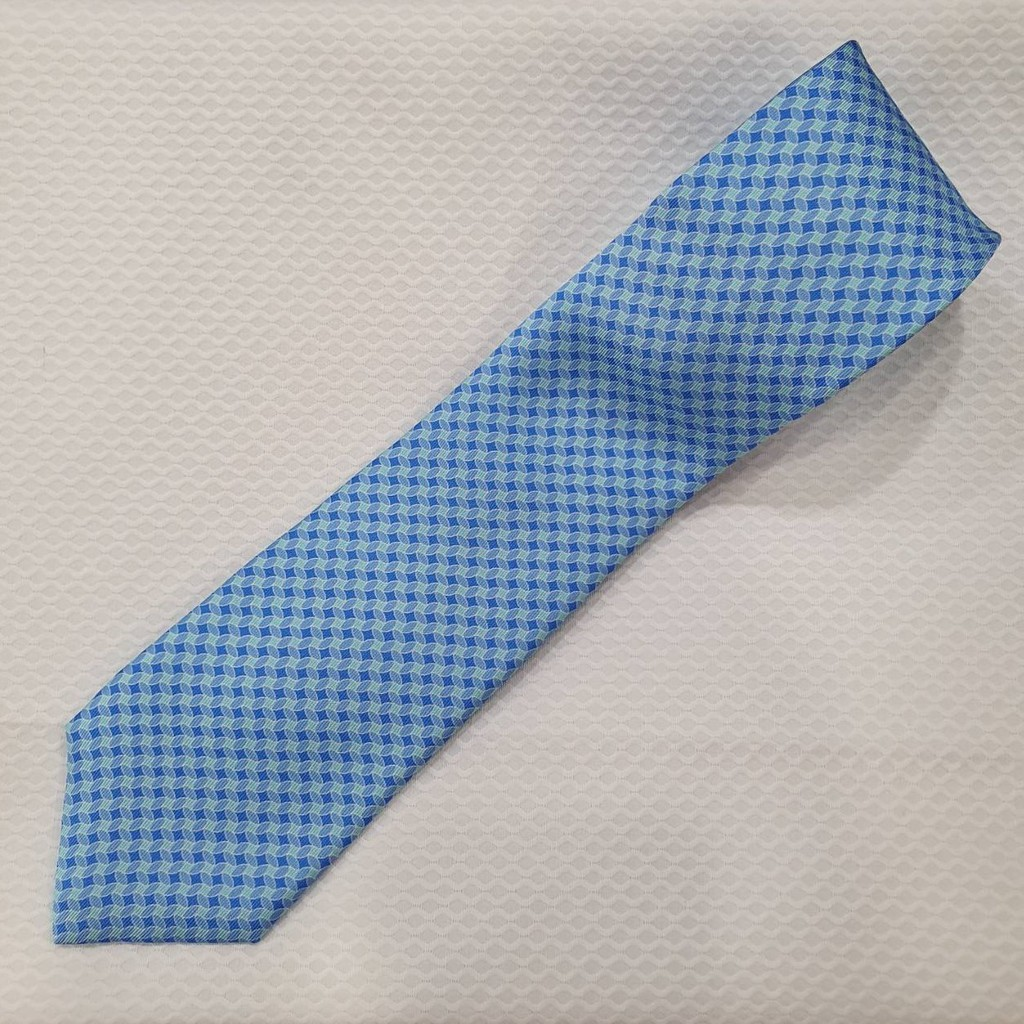 【湯姆西服】手工領帶 淺藍