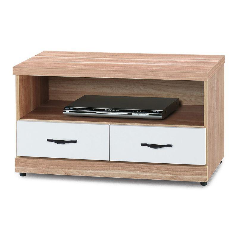 【RA750-4】原木雙色3尺電視櫃
