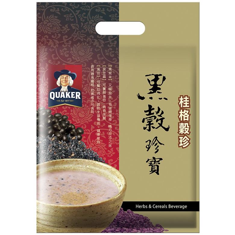 桂格 黑穀珍寶穀精(32gX12包/袋)[大買家]
