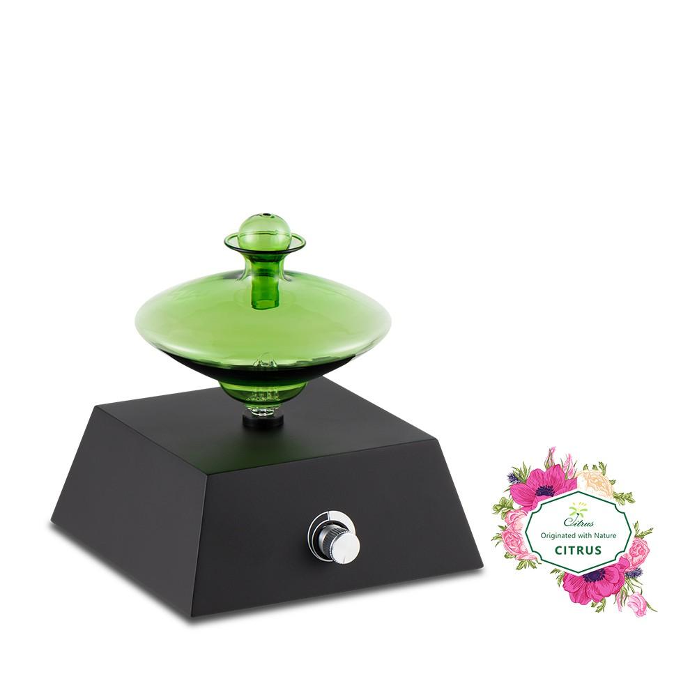 香氛精油擴香儀 - 綠色飛碟 (充電式) 現貨免運
