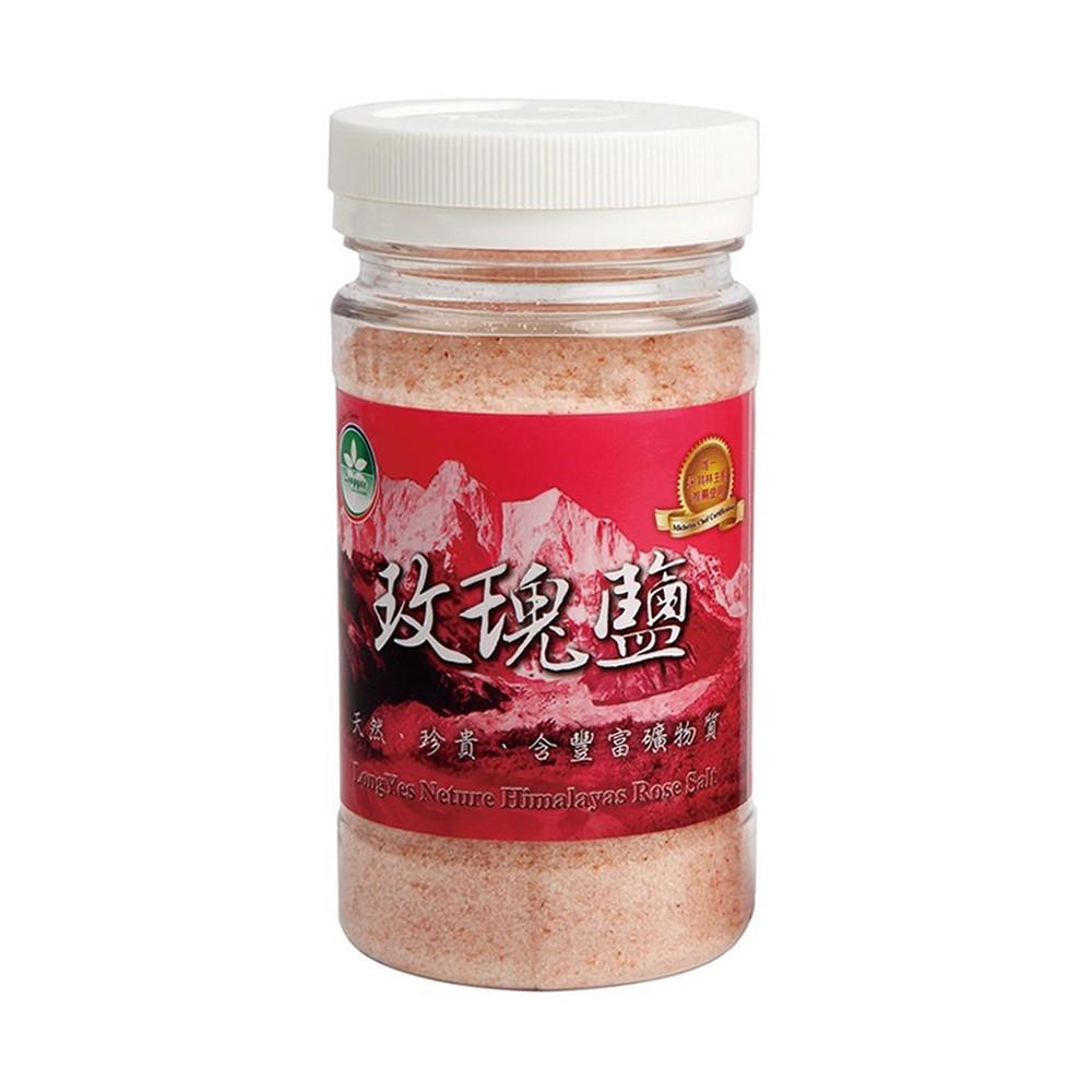 隆一喜馬拉雅山玫瑰細鹽(罐裝) 230g /6罐