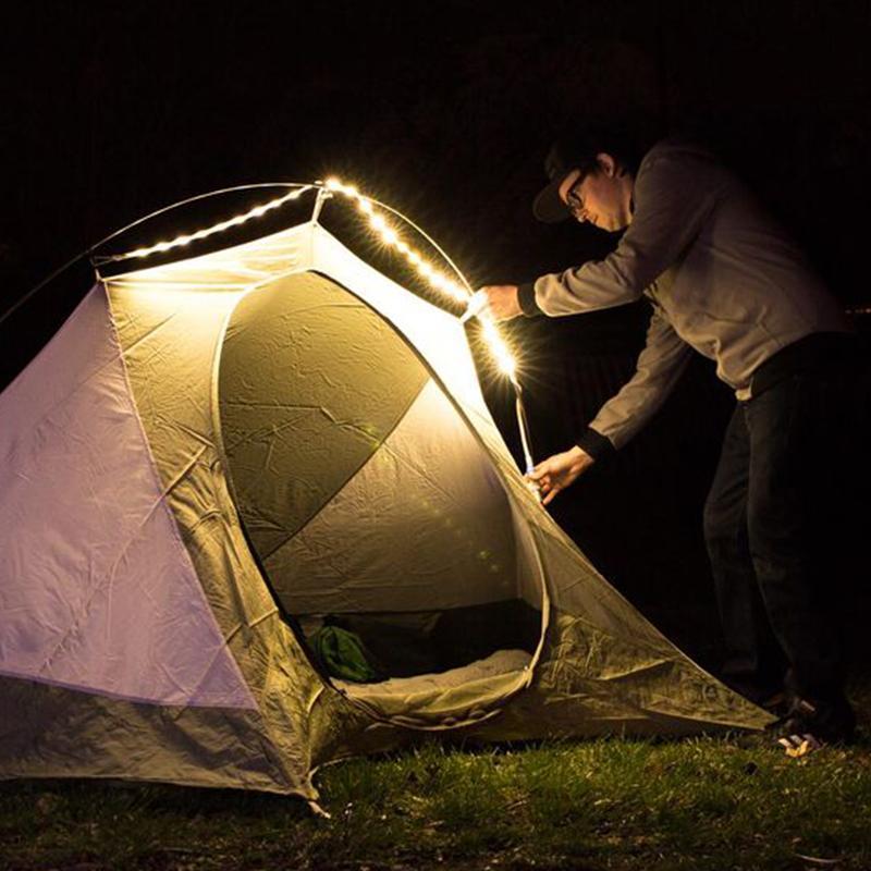 Luminoodle 5ft 便攜式露營LED燈條/USB供電