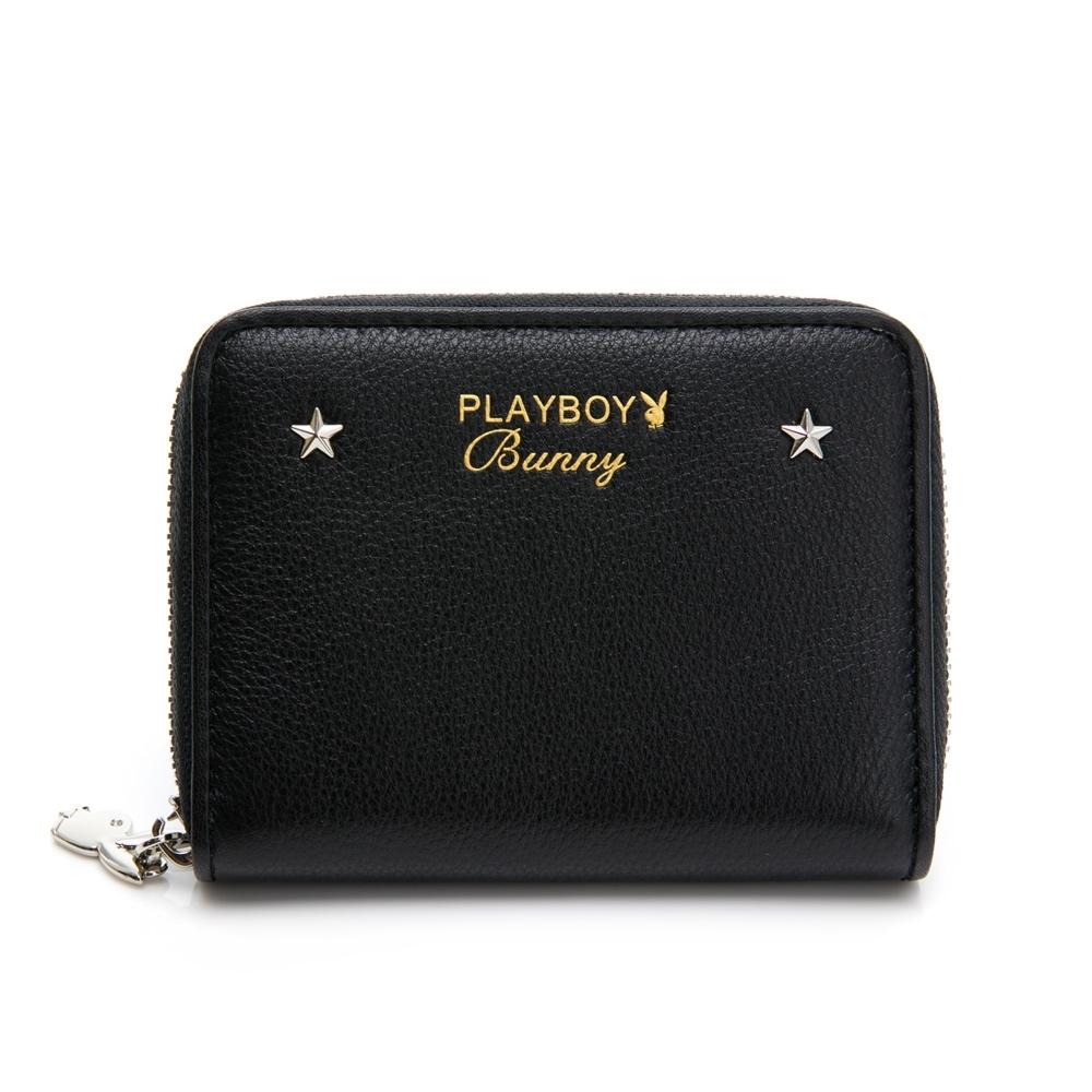 PLAYBOY 零錢包 BLING BLING BUNNY系列 黑色 501-4713-09-1