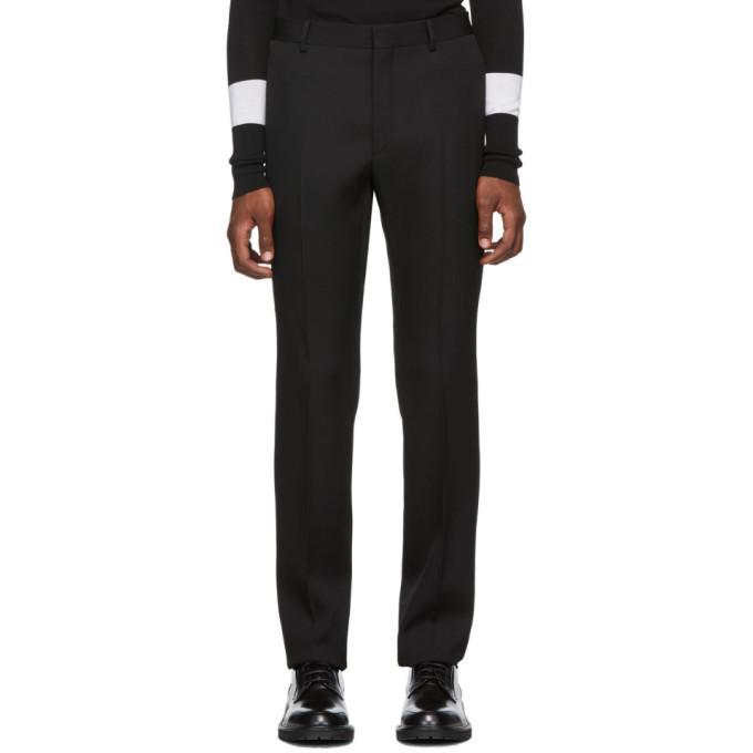 Givenchy 黑色烟管裤