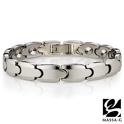 DECO X MASSA-G 純銀工藝 頂級鎢鋼手環