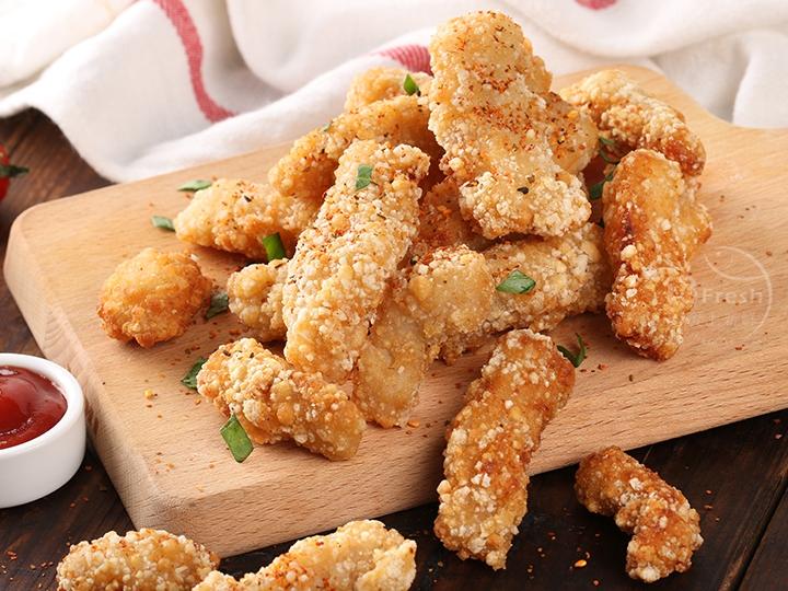 黃金香酥旗魚塊